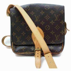 Auth Louis Vuitton Cartouchiere PM Crossbody Bag